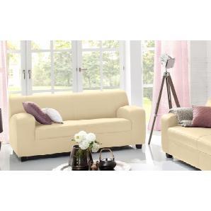 Home affaire 2-oder 3-Sitzer beige, Mit Federkern, 2-Sitzer, »Fun«, strapazierfähig, FSC®-zertifiziert