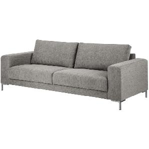 Sofa Summer (3-Sitzer) - Stoff Hellgrau, Fredriks