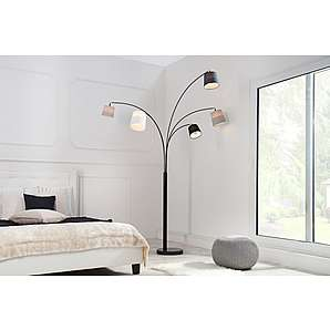 bogenlampen perfekte lichtquelle in ansprechendem design verpackt. Black Bedroom Furniture Sets. Home Design Ideas