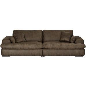 Big Sofa  Big One ¦ braun ¦ Maße (cm): B: 280 H: 87 T: 108 Polstermöbel  Sofas  Big-Sofas » Höffner