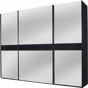 INOSIGN Schwebetürenschrank schwarz, Höhe 236 cm