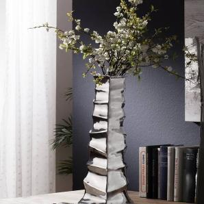 Vase15x50 Silber SPECIALDEKO #92