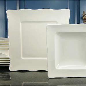 Tafelservice Porzellan »EVA« (12tlg.), weiß, CREATABLE