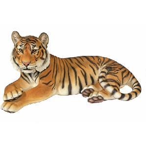 Dekofigur Tiger XXL Wetter- und frostbeständig HOME AFFAIRE braun