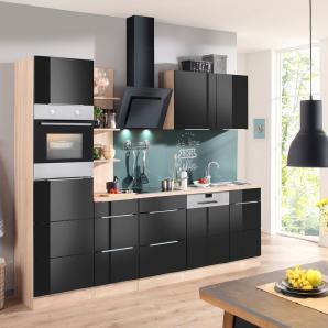 Küchenzeilen in Schwarz online vergleichen | Möbel 24