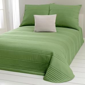 Damen Tagesdecke, grün, Gr. ca. 270/210 cm,  home