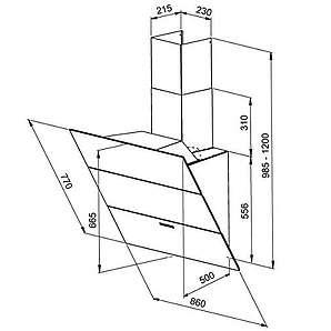 dunstabzugshauben aus glas online vergleichen m bel 24. Black Bedroom Furniture Sets. Home Design Ideas