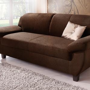 Home affaire 3-Sitzer, braun, B/H/T: 207x42x55cm »Yesterday«, FSC®-zertifiziert