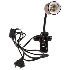 Sharplace 360-Grad Einstellbar 220V Lampenfassung Mit Schalter für Keramik Heizung Glühbirne Strahler Terrarium
