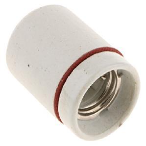 MagiDeal Lampensockel Adapter E27 Reptil Infrarot-Heizstrahler für LED Lampen - Weiß