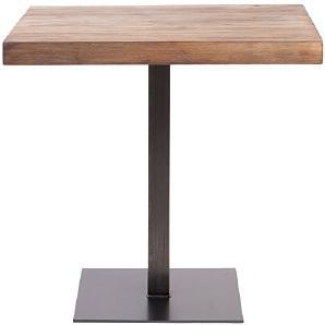 Indhouse–Tisch-Restaurant Loft Design mit industriellen Stil in Vintage Metall und Holz Thin Rochester