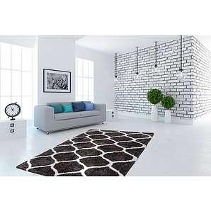 hochflorteppiche dick und flauschig. Black Bedroom Furniture Sets. Home Design Ideas