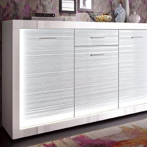 Sideboard »Starlight«, Breite 180 cm, inkl. Profil-Beleuchtung