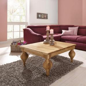 Premium by Home affaire, Couchtisch »Felix« mit gedrehten Beinen, in zwei verschiedenen Breiten