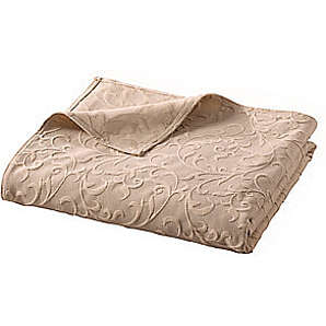 Sofaüberwurf, natur, Gr. ca. 250/370 cm,  home, 100% Baumwolle