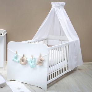 Babybett passend zur Babymöbel Serie »Happy«, in weiß matt