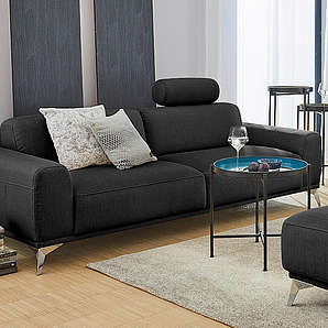 2 3 sitzer sofas von baur online vergleichen m bel 24. Black Bedroom Furniture Sets. Home Design Ideas