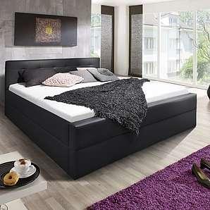 ® Design Polsterbett 180 x 200 cm schwarz Kappa Auf Lager !
