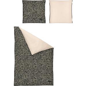 Strenesse Wendebettwäsche »Pebble«, 1x135/200 cm, aus 100% Baumwolle, braun