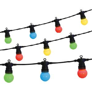 LED-Lichterkette bunt 7,5m