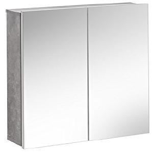 SOPHIA WHITE 840- 60 cm Badschrank, MDF Platte, weiß, 2 x 6 x 65 cm