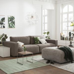 Gallery M Big Sofa  Lucia ¦ braun ¦ Maße (cm): B: 292 H: 81 T: 124 Polstermöbel  Sofas  Big-Sofas » Höffner