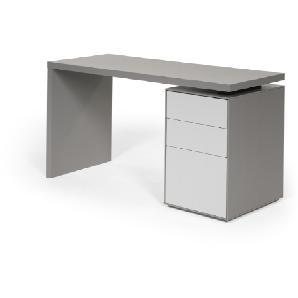 Stretto Schreibtisch, Grautöne