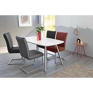 st hle aus edelstahl online vergleichen m bel 24. Black Bedroom Furniture Sets. Home Design Ideas