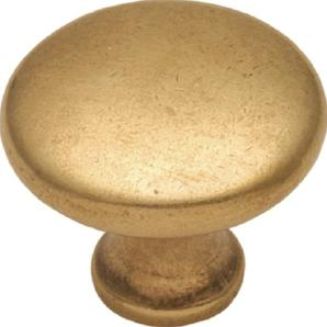 Hickory Hardware P14255-LB 1.12. Conquest Lustre Messing Cabinet Knob