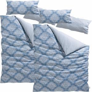 Guido Maria Kretschmer Home & Living Wendebettwäsche  »Tara«, 2x 135x200 cm, blau, aus 100% Baumwolle