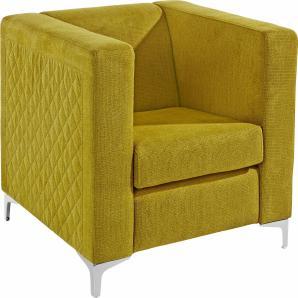 INOSIGN Sessel mit Steppung grün, FSC®-zertifiziert