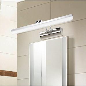 Flashing- Led modernen minimalistischen Badezimmer-Spiegel-Beleuchtung Kommode Spiegelschrank Licht Badezimmer Wandleuchte Wassernebel ( größe : 55cm )