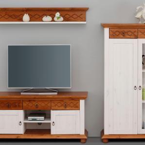 Home affaire Wohnwand  weiß, »Helma«, FSC®-zertifiziert