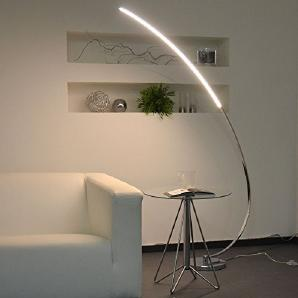 LICHT-TREND / LED Stehlampe / 12W LED / 150cm / Chrom