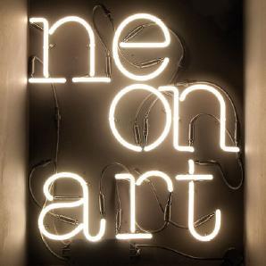 Neon Font Neon Lamp Shaped Cm.18 H. 23 - P P [W]