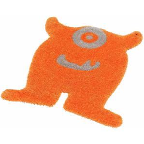 Tom Tailor Kinderteppich »Soft Monster«, L 100x120 cm, 35 mm Gesamthöhe, orange