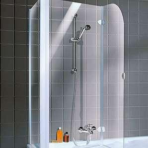 SCHULTE Badewannenaufsatz »2-teilig«, 114,5 x 140 x 80 cm