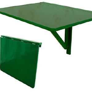 SoBuy® Wandklapptisch, Küchentisch, Klapptisch, Esstisch aus Holz, 75x60cm,Weiß FWT01-GR (Grün)