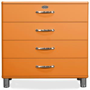 Kommode Orange Lackiert Tenzo Malibu Mdf Modern