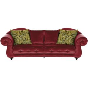 Design Big Sofa  Nobody ¦ rot ¦ Maße (cm): B: 288 H: 98 T: 110 Polstermöbel  Sofas  Big-Sofas » Höffner
