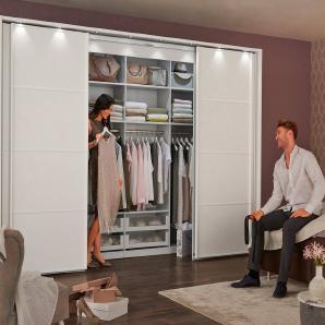 WIEMANN begehbarer Kleiderschrank »Multiplus«, in zwei Ausführungen
