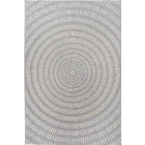In- und Outdoor Teppich Kathi in grau