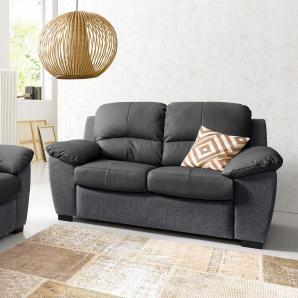 COTTA 2-Sitzer schwarz, FSC®-zertifiziert