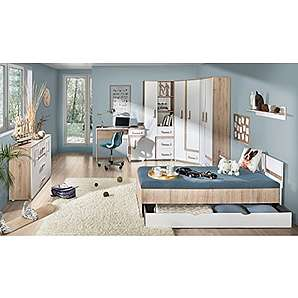 Komplett jugendzimmer von amazon online vergleichen m bel 24 for Jugendzimmer komplett eckschrank