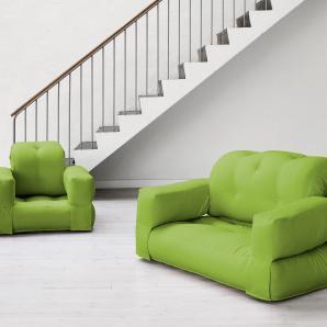 KARUP Futon-Sessel grün, 140/200cm, »Hippo«