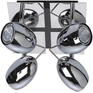 LED-Spot 4er Algol Chrom EEK: A-A++