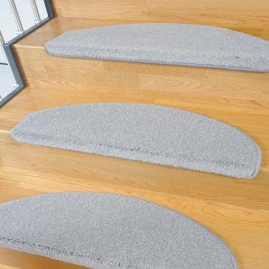 Living Line Stufenmatte »Buffalo«, L 15x 65x24 cm, schmutzabweisend, 15 mm Gesamthöhe, grau