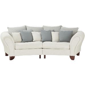 smart Big Sofa  Nadja ¦ beige ¦ Maße (cm): B: 277 H: 100 T: 108 Polstermöbel  Sofas  3-Sitzer » Höffner
