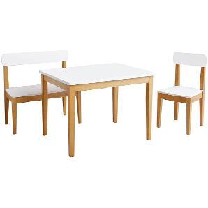 Kindersitzgruppe Purus (3-tlg.) - Weiß, Roba