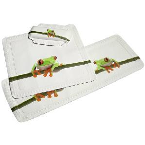 KLEINE WOLKE Nackenpolster »Frog«, Badewannenkissen Nackenkissen
